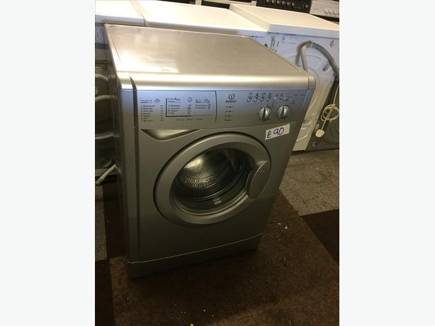 7KG INDESIT SILVER WASHING MACHINE GOOD CONDITION🌎🌎PLANET APPLIANCE🌎🌎