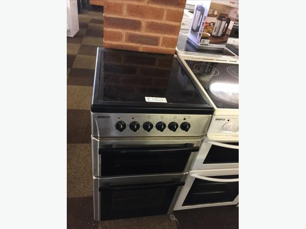 SILVER BEKO 50CM ELECTRIC COOKER 🌎🌎PLANET APPLIANCE🌎🌎