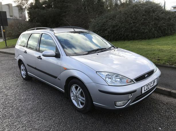 Ford Focus 1.8i 16v Zetec ESTATE. 12 MONTHS MOT! PART HISTORY, Drives well