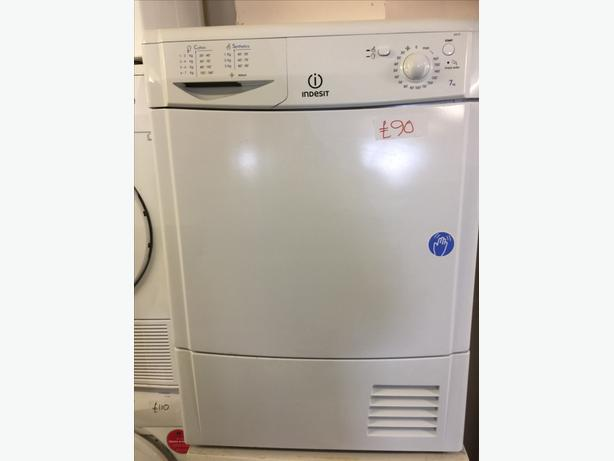 7KG INDESIT CONDENSER DRYER VERY CLEAN AND TIDY🌎🌎PLANET APPLIANCE🌎