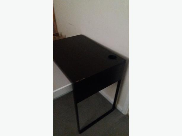 BLACK DESK ,CHILDS OR YOUNG PERSONS DESK