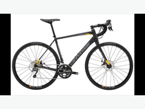 new 2018 Cannondale road bike