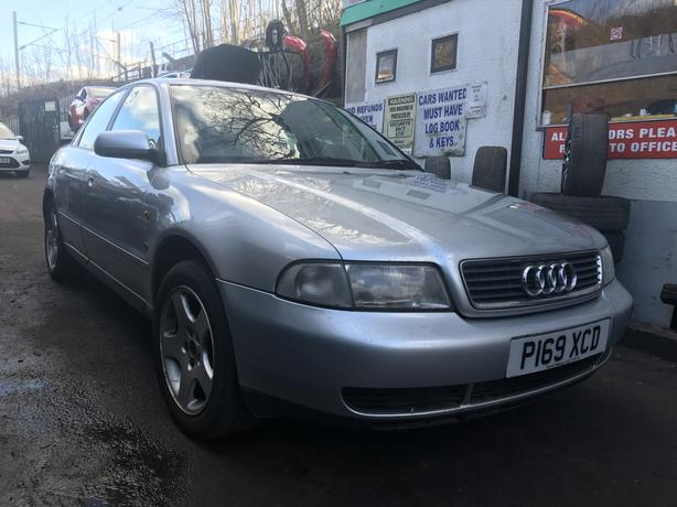 Audi A4 1997 1.9 Diesel Silver Breaking Spares *wheel nut*
