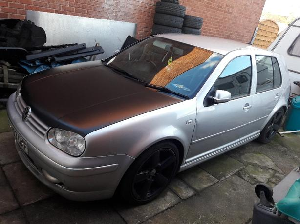 Golf gt tdi 190bhp spares or repair
