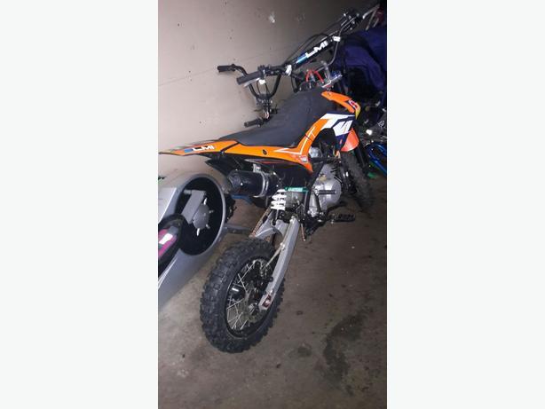 140cc kurz pitbike