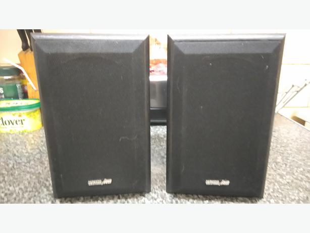 Acoustic solutions book shelf speakers A/S