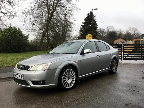 2005 Ford Mondeo ST 2.2 TDCI HATCHBACK SILVER 2 OWNER HPI CLEAR EXCELLENT RUNNER