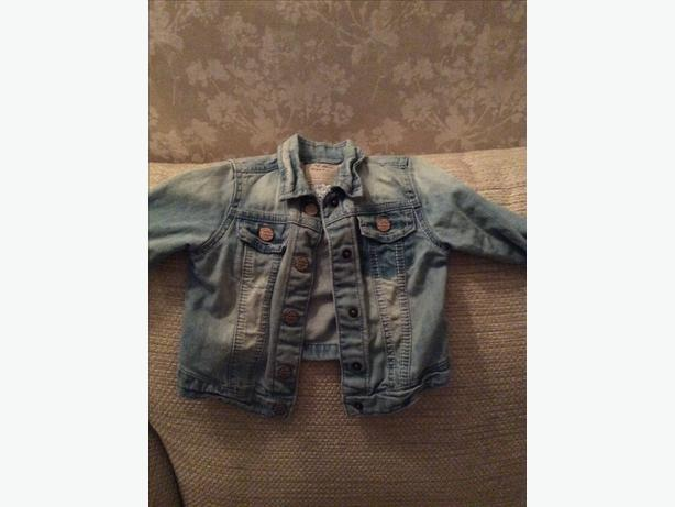 Girls Next denim jacket aged 1.5-2 years
