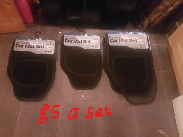 stock clearnce 40 sets of brand new car mats