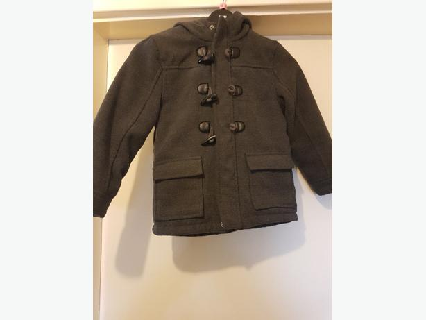Boys duffle coat age 3-4yrs