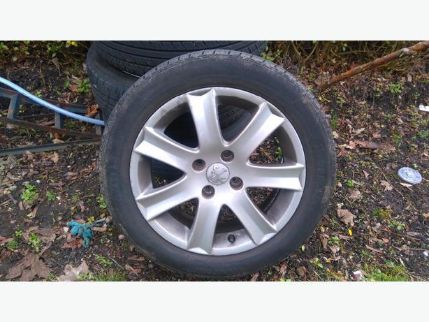 peugeot 207 wheels