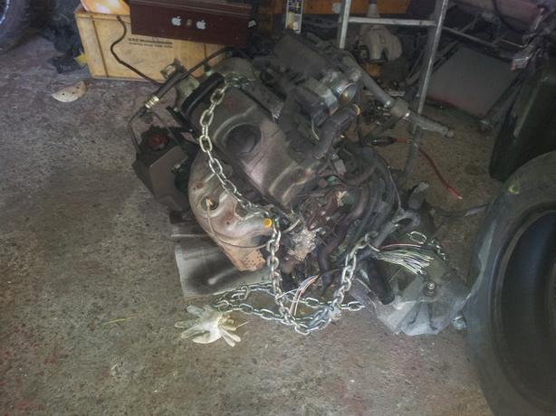 04 Citroen Berlingo Engine and Gearbox, complete