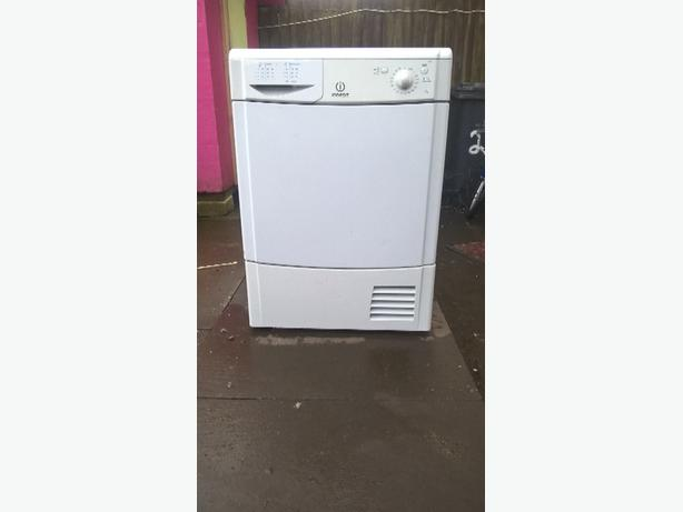 indesit 7kg condenser dryer