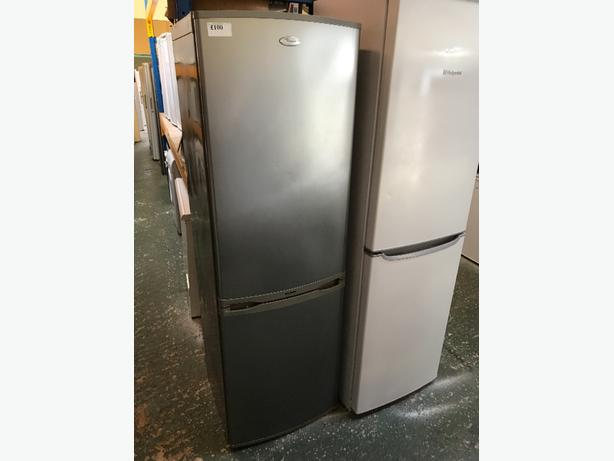 💥whirlpool silver fridgefreezer at recyk appliances