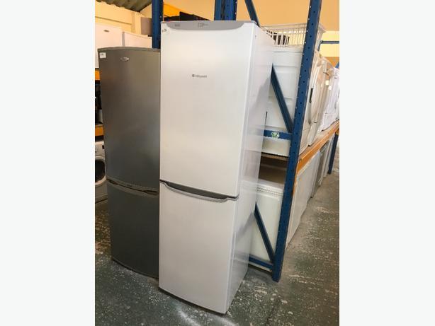 👑hotpoint huge fridgefreezer. free deilvery🌎
