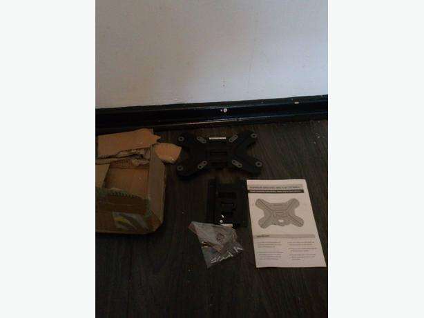 up to 26 inch flat to wall tv bracket