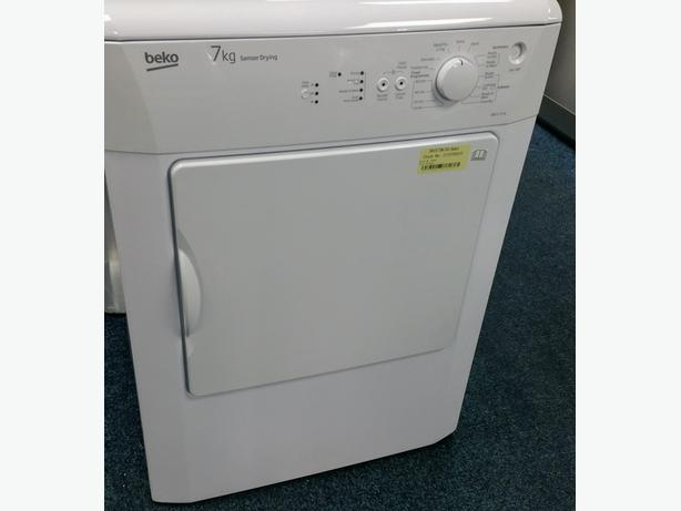 **GRADED** BEKO 7KG VENTED TUMBLE DRYER + 12 MONTHS WARRANTY