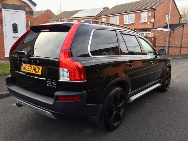 2004 (53) VOLVO XC 90 7 SEATER TOP SPEC LPG/GAS CONVERTED ** TWIN TURBO BEAST **