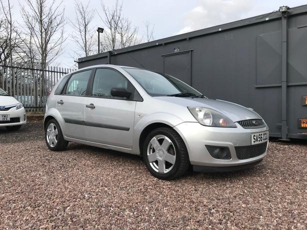 Ford Fiesta 1.4 TD Zetec Climate 5dr S/HISTORY CAMBELT DONE AT @80K