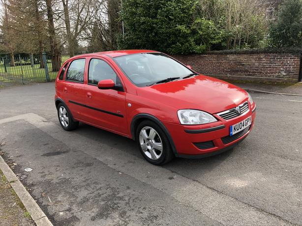 2004 Vauxhall Corsa 1.2i Energy 5 Door Petrol Manual Red Long Mot