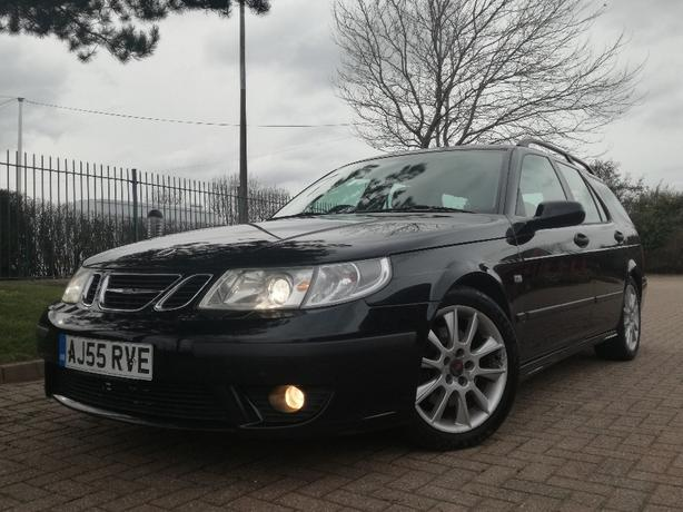 2005/55 SAAB 9-5 2.3 TURBO AERO HOT ESTATE *2 OWNERS LONG MOT IMMACULATE*