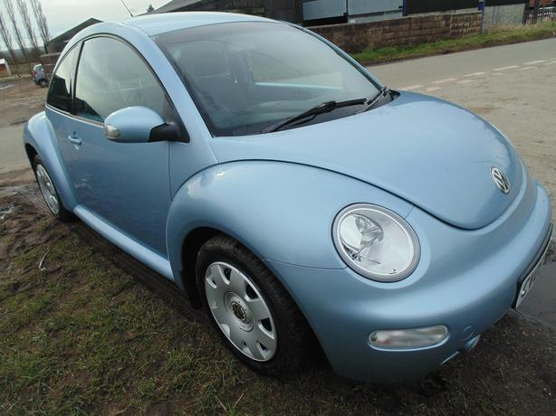VW BEETLE TDI 1 LADY OWNER , 16,000 MILES FROM NEW !