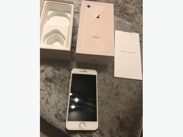 iphone 8 gold 64gb locked to ee