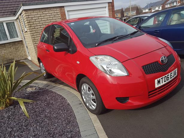 2006 06 Toyota Yaris T2 1.0 12 months mot Lots of New Parts Service History