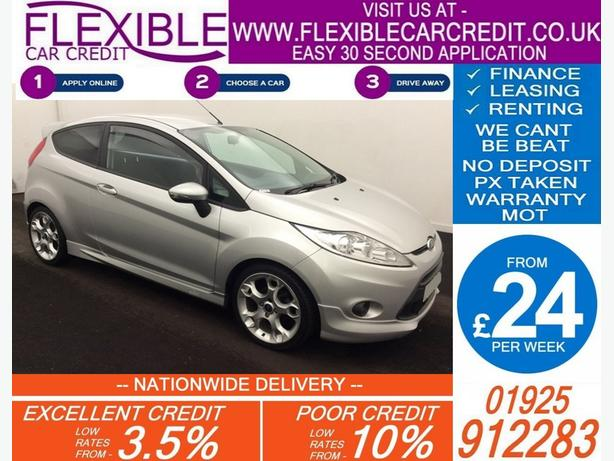 2010 FORD FIESTA 1.6 ZETEC S PETROL MANUAL HATCHBACK 70K