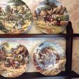 8x collectors plates
