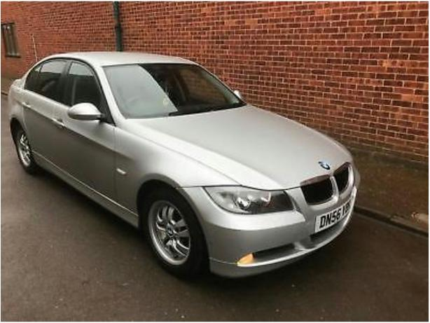 bmw 318i, 3 series, 2006 plate
