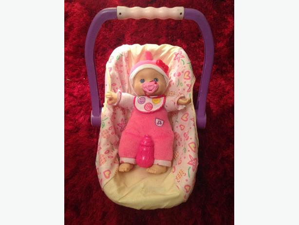 Baby Doll & Carrier