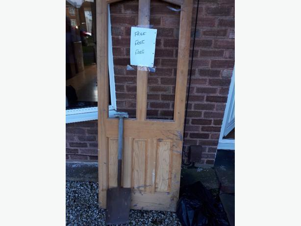 FREE: wooden door