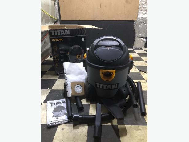 Titan 350 Wet & Dry Vacuum