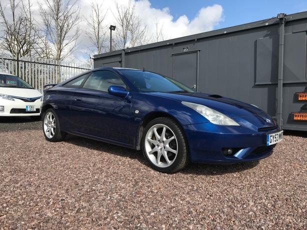 Toyota Celica 1.8 VVTL-i T Sport 3dr (leather) T SPORT S/HISTORY