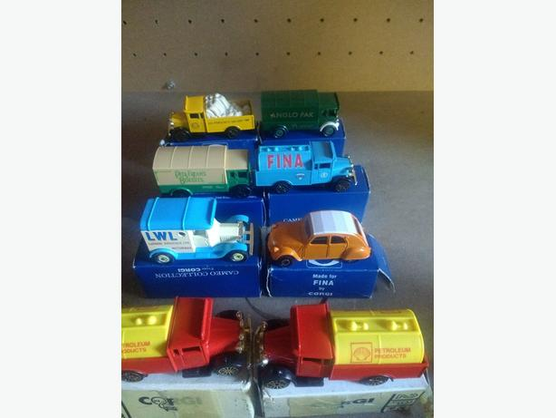corgi joblot of cars