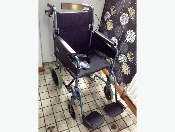 Wheel Chair (Foldable)