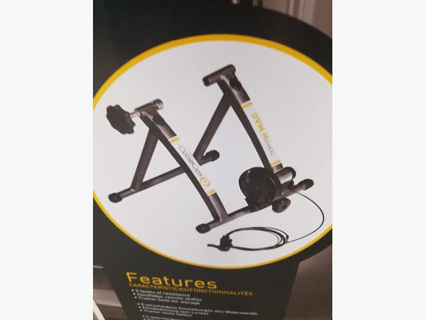 Brand new indoor cycle trainer