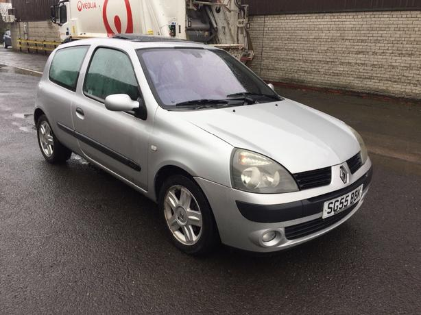 Renault Clio 1.2 16v 3dr (GENUINE LOW MILEAGE 48k) (MOT UNTIL JUNE 2018) 2005