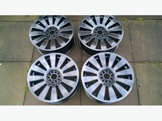ALLOY WHEELS AUDI VW MULTI FIT REFURBED 5X112 5X100