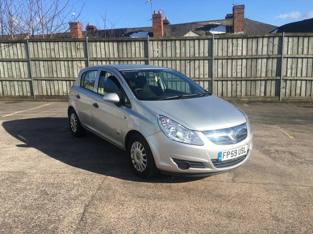 Vauxhall Corsa 1.3 CDTI Diesel, EcoFlex, £30 Road tax for year, 59 reg