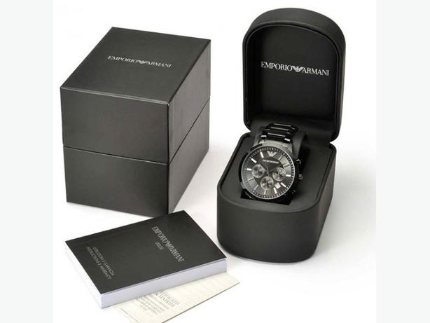 Quick Sell - Brand New Armani watch for Men, Black color, Original box