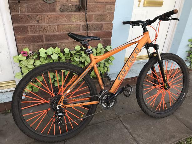  Log In needed £100 · Carrera vengeance bike