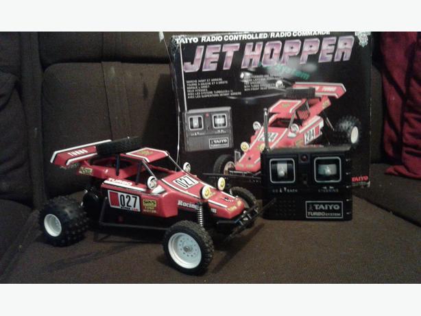 Vintage Taiyo Jet Hopper radio control buggy 1980s retro gift