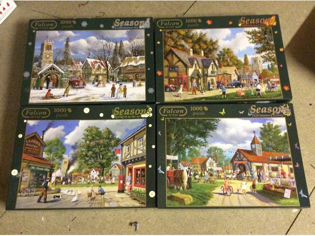 4 SEASON PUZZLES 1000 PIECES