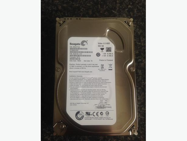 Seagate Video 3.5 HD 500 GB ST3500312CS