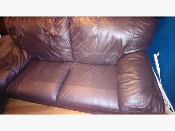 Surprising Free Argos Chocolate Brown Large 2 Seater Leather Sofa Ncnpc Chair Design For Home Ncnpcorg