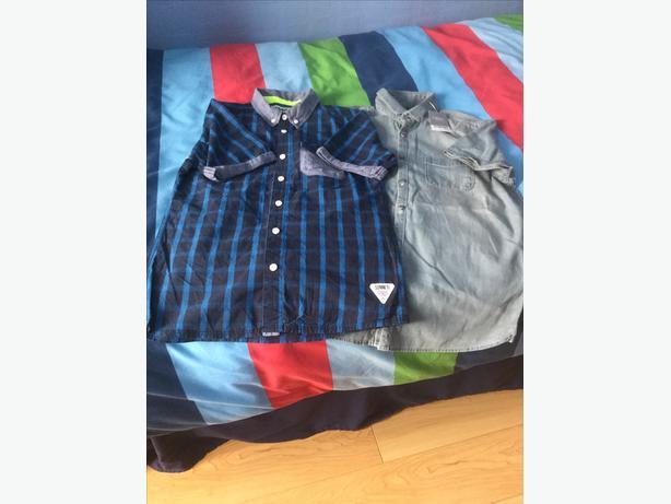 Boys short sleeve shirts