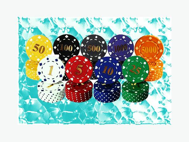 Numbered Roulette Chips