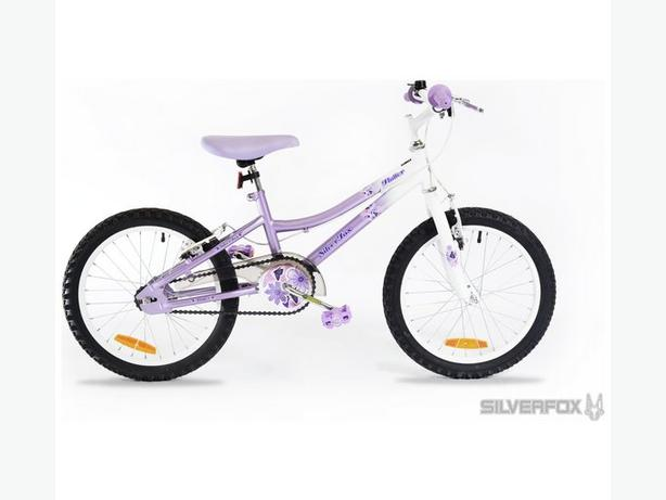 "SilverFox Flutter 18"" girls bike MINT CONDITION ! ! !"